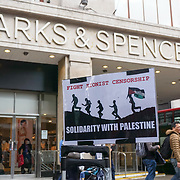 Palestine Land Day rally against the racist, apartheid, Zionist state of Israel