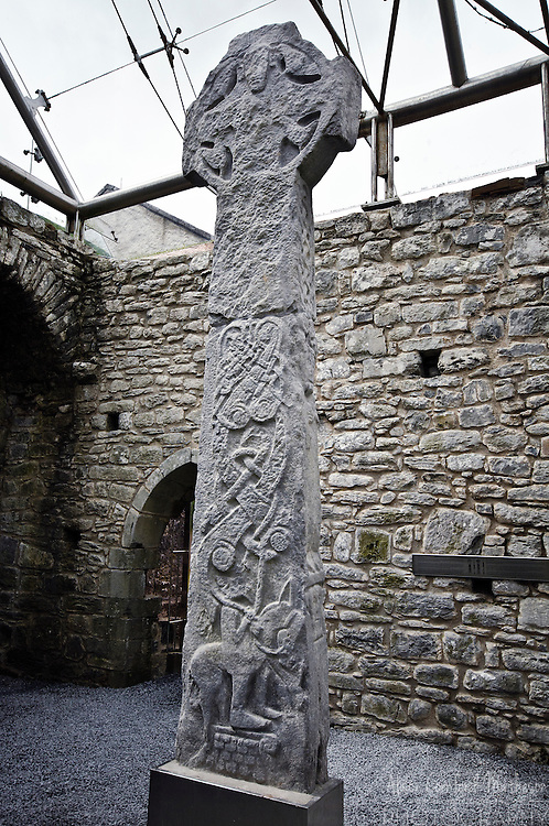 "Kilfenora Cathedral boasts one of the greatest concentrations of high crosses in Ireland, including the famed ""Doorty Cross""."