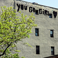 You Go Girl Graffiti