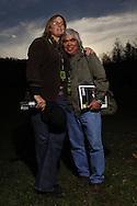 Alyssa Adams with Pulitzer Prize Winner, Nick Ut.