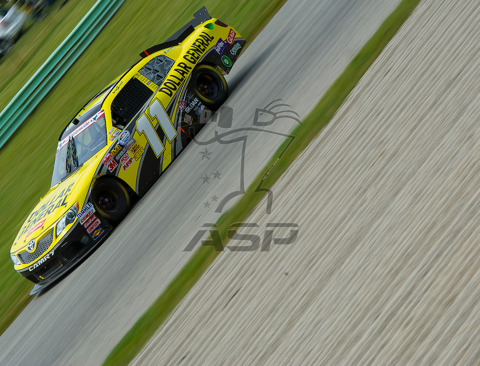 Elkhart Lake,WI - JUN 23, 2012: Brian Scott (11) drives during the Sargento 200 at Road of America in Elkhart Lake , WI.