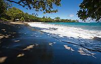 View of Hamoa Beach in East Maui, Hawaii