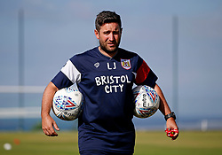 Bristol City head coach Lee Johnson watches over the training session - Mandatory by-line: Matt McNulty/JMP - 20/07/2017 - FOOTBALL - Tenerife Top Training Centre - Costa Adeje, Tenerife - Pre-Season Training