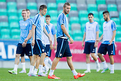 Jasmin Kurtic during practice session of Slovenian National Football Team before Euro 2016 Qualifications match against Switzerland, on September 1, 2015 in SRC Stozice, Ljubljana, Slovenia. Photo by Urban Urbanc / Sportida