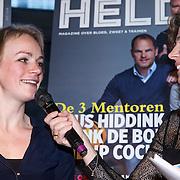 NLD/Amsterdam/20150202 - Presentatie sportblad Helden 25, Thijsje Oenema en Barbara Barend