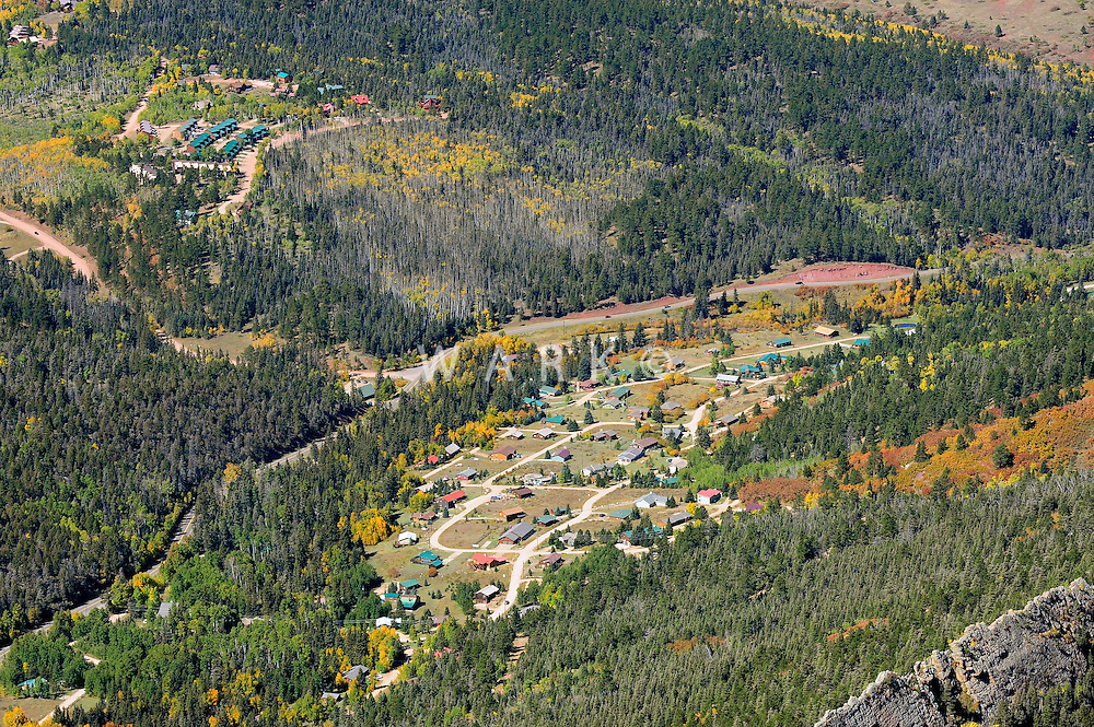 aerial of Cuchara, Colorado
