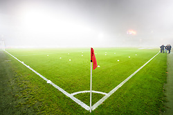November 8, 2018 - MalmÅ, Sweden - 181108 Thick fog inside Stadion prior to the Europa League group stage match between MalmÅ¡ FF and Sarpsborg 08 on November 8, 2018 in MalmÅ¡..Photo: Petter Arvidson / BILDBYRN / kod PA / 92149 (Credit Image: © Petter Arvidson/Bildbyran via ZUMA Press)