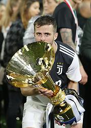 May 19, 2019 - Turin, ITA, Italy - Miralem Pjani? during Serie A match between Juventus v Atalanta, in Turin, on May 19, 2019  (Credit Image: © Loris Roselli/NurPhoto via ZUMA Press)