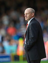 BRISTOL, ENGLAND - Saturday, August 7, 2010: Bristol City's Steve Coppell in action against Millwall during the League Championship match at Ashton Gate. (Pic by: David Rawcliffe/Propaganda)