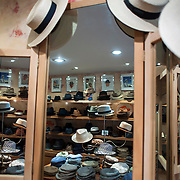 May 3, 2012 - Manhattan, NY : Hats of all shapes and shades crowd the display room at Worth & Worth, a men's and women's hat store located at 45 West 57th St. in Manhattan. CREDIT : Karsten Moran for The New York Times