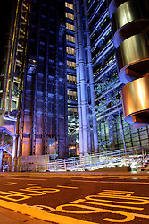 UK ENGLAND LONDON 13SEP04 - Deserted Lloyds Building in the city of London in the early morning hours...jre/Photo by Jiri Rezac ..© Jiri Rezac 2004..Contact: +44 (0) 7050 110 417.Mobile: +44 (0) 7801 337 683.Office: +44 (0) 20 8968 9635..Email: jiri@jirirezac.com.Web: www.jirirezac.com..© All images Jiri Rezac 2004 - All rights reserved.