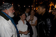 BRUCE WEBER; NAN BUSH; CECILIA DEAN; PHARRELL WILLIAMS, The Launch of Visionaire 55 Surprise in collaboration with Krug. Raleigh Hotel. Art Basel Miami Beach. 4 December 2008 *** Local Caption *** -DO NOT ARCHIVE -Copyright Photograph by Dafydd Jones. 248 Clapham Rd. London SW9 0PZ. Tel 0207 820 0771. www.dafjones.com