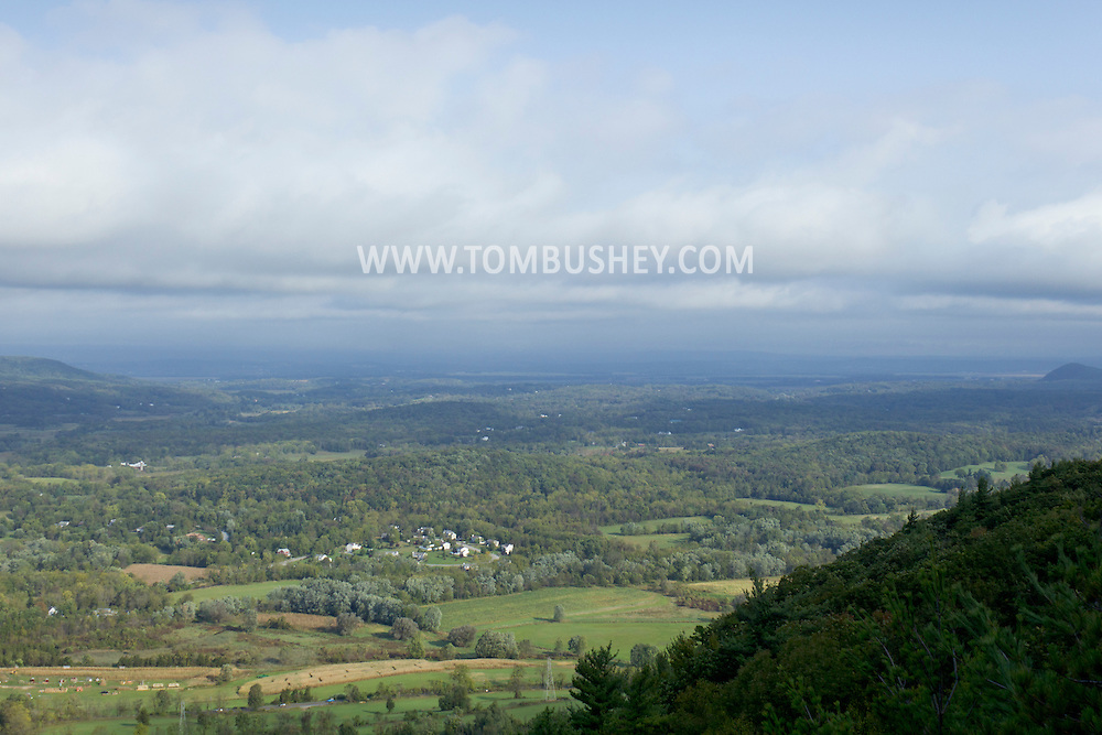 Vernon, New Jersey - A view looking north from Pinwheel Vista on Wawayanda Mountain on Sept. 22, 2012.