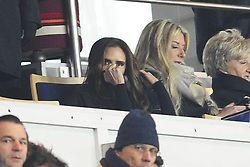 Victoria Beckham during the French League 1 between Paris Saint-Germain FC and Marseille Olympic OM, at Parc des Princes, Paris, France, February 24, 2013. Photo by Imago / i-Images...UK ONLY