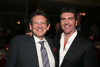 Lucian Grainge and Simon Cowell