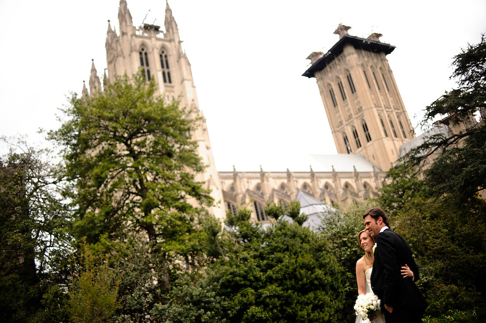 photo by Matt Roth.Saturday, April 14, 2012.Assignment ID: 30124225A..Molly Spencer Palmer and Lee Cowan married each other at St. Albans Parish in Washington D.C. Saturday, April 14, 2012. The Rev. Margot D. Critchfield, an Episcopal priest, performed the ceremony.