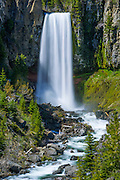 Tumalo Falls, Deschutes National Forest, near Bend, Oregon.