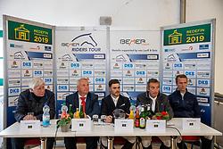 SCHOCKEMÖHLE Paul (Veranstalter), BACKHAUS Till (Minister), KOLLER Felix (AUT), HETZEL Holger (GER), STUEHLMEYER Patrick (GER)<br /> Redefin - Pferdefestival 2019<br /> Championat des Landes Mecklenburg-Vorpommern<br /> BEMER Riders Tour – Qualifikation zur Wertungsprüfung<br /> Große Tour - Int. Weltranglisten-Springprüfung (1,50m) mit Stechen<br /> 25. Mai 2019<br /> © www.sportfotos-lafrentz.de/Stefan Lafrentz