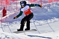 VOS Chris, SB-LL1, NED, Banked Slalom at the WPSB_2019 Para Snowboard World Cup, La Molina, Spain
