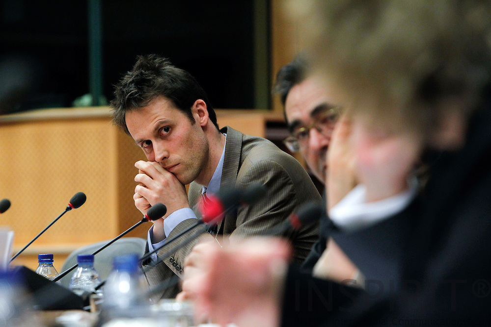"BRUSSELS - BELGIUM - 03 MARCH 2010 -- Steven D'Haeseleer, Director social affairs, BusinessEurope, at the Joint Seminar Eurofound - European Parliament ""Company strategies in Europe: Flexibility and social dialogue"" PHOTO: ERIK LUNTANG / INSPIRIT"