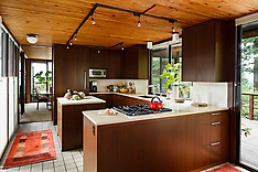 Northwest Mid Century Kitchen