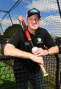 Baseball NZ CEO Ryan Flynn poses for a photo as the new Auckland Tuatara baseball team is announced to play in the Australian Baseball League at the Centre for Conservaion Medicine at Auckland Zoo. New Zealand. Monday 27 August 2018. © Copyright Image: Andrew Cornaga / www.photosport.nz
