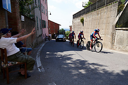 WNT Rotor Pro Cycling at Stage 1 of 2019 Giro Rosa Iccrea, an 18 km team time trial from Cassano Spinola to Castellania, Italy on July 5, 2019. Photo by Sean Robinson/velofocus.com
