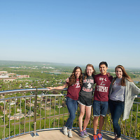 2016 UWL Spring Students Grandad Bluff