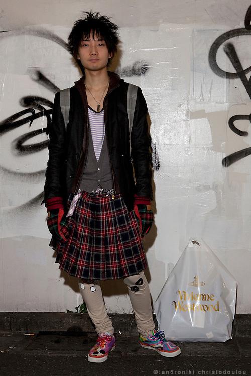 Takimoto Kohei (21) economics student
