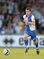 Football<br /> Bristol Rovers vs Aldershot Town, Carling Cup 1st Round, Memorial Stadium, Bristol, UK<br /> Stuart Campbell (captain) of Bristol Rovers <br /> 11/08/2009<br /> Credit Colorsport/Dan Rowley