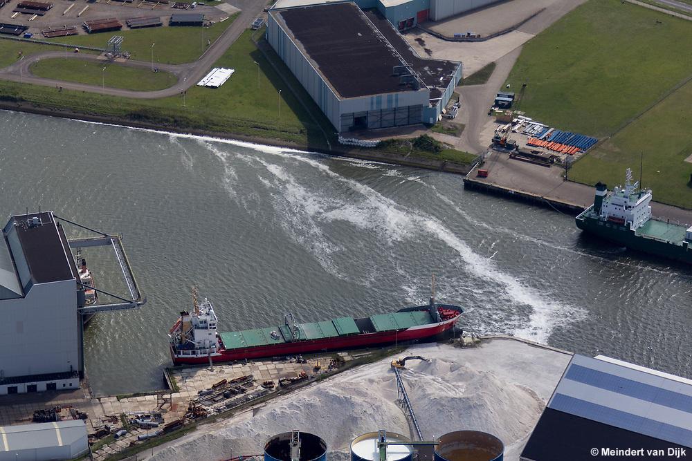 Esco   Frisia Zout   Industriehaven Harlingen