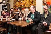 Rökkurró—(L to R) Axel Ingi Jónsson, Skúli Agnarr Einarsson, Helga Ragnarsdóttir, Hilda Kristín Stefánsdóttir, Árni Þór Árnason, Björn Pálmi Pálmason
