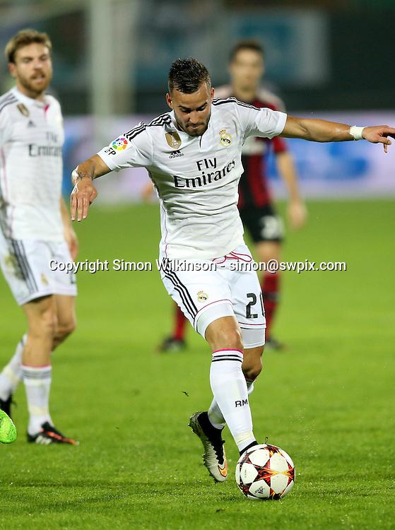 Dubai Football Challenge 2014, Sevens Stadium Dubai, 30/12/14 - Real Madrid's Jese