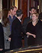 KATE Middleton ,William & Chelsea Clinton Attend Reception