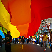 GAY PRIDE MARCH / MARCHA DEL ORGULLO GAY<br /> Photography by Aaron Sosa<br /> Caracas - Venezuela 2009<br /> (Copyright © Aaron Sosa