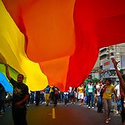 GAY PRIDE MARCH / MARCHA DEL ORGULLO GAY<br /> Photography by Aaron Sosa<br /> Caracas - Venezuela 2009<br /> (Copyright &copy; Aaron Sosa