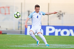 AUBAGNE, FRANCE - Monday, May 29, 2017: England's Joshua Tymon during the Toulon Tournament Group A match between England U18 and Angola U20 at the Stade de Lattre-de-Tassigny. (Pic by David Rawcliffe/Propaganda)