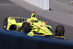 April 30, 2018 - Indianapolis, IN, U.S. - INDIANAPOLIS, IN - APRIL 30: Simon Pagenaud (22) entering Turn 1 during an Open Test on April 30, 2018, at the Indianapolis Motor Speedway in Indianapolis, IN. (Photo by James Black/Icon Sportswire) (Credit Image: © James Black/Icon SMI via ZUMA Press)