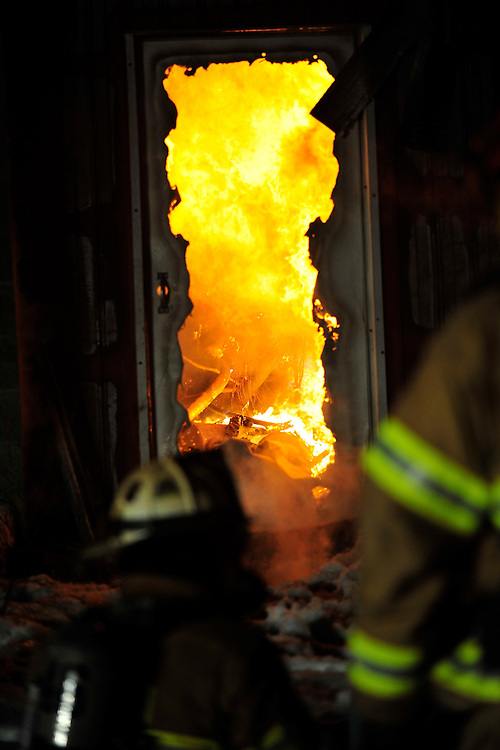 Firefighters are called to a barn fire at 559 Old Carriage Road in Allen Township Monday evening Feb. 9th, 2015, in Northampton. Initial reports indicated that 40 cows were trapped in the barn at the dairy farm. (Chris Post   lehighvalleylive.com)
