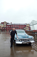 Owner of Cannery Pier Hotel. Astoria, Oregon.