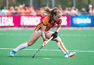 LAREN -  Hockey -  Lisa Post (Oranje-Rood).   Hoofdklasse dames Laren-Oranje Rood (0-4). Oranje Rood plaatst zich voor Play Offs.  COPYRIGHT KOEN SUYK
