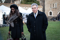 © Licensed to London News Pictures. 13/12/2018. London, UK. Chairman of Conservative Party Brandon Lewis speaks to media in College Green. Yesterday, British Prime Minister Theresa May won the backing of her party to stay on as Prime Minister, following a vote of no confidence.  Photo credit : Tom Nicholson/LNP