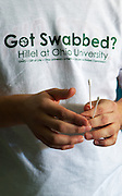 Hillel at Ohio University's Got Swabbed event at Baker Center