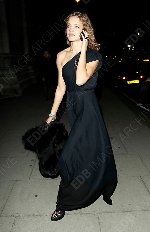 05.SEPTEMBER.2010. LONDON<br /> <br /> NATALIA VODIANOVA ATTENDS A PARTY TO CELEBRATE THE RECIVING OF BRITISH CITIZENSHIP FOR RUSSIAN NEWS PAPER MOGUL ALEXANDER LEBEDEV AT THE ROYAL COURTS OF JUSTICE IN THE STRAND.<br /> <br /> BYLINE: EDBIMAGEARCHIVE.COM<br /> <br /> *THIS IMAGE IS STRICTLY FOR UK NEWSPAPERS AND MAGAZINES ONLY*<br /> *FOR WORLD WIDE SALES AND WEB USE PLEASE CONTACT EDBIMAGEARCHIVE - 0208 954 5968*