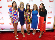 "Jaime Primak Sullivan, star of ""Jersey Belle"" and ""CawfeeTawk,"" TV personality Leeza Gibbons, OK! TV host Julie Alexandria, Angela Maiers, founder of ""Choose2Matter,"" and Liz Haesler, SVP, Staples, left to right, participate in Staples BTS Live! at BlogHer15 where they discussed back-to-school trends, Friday, July 17, 2015, in New York.  (Photo by Diane Bondareff/Invision for Staples/AP Images)"