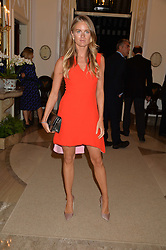 CRESSIDA BONAS at a party to kick off London Fashion Week hosted by US Ambassador Matthew Barzun and Mrs Brooke Brown Barzun with Alexandra Shulman in association with J.Crew hrld at Winfield House, Regent's Park, London on 18th September 2015.