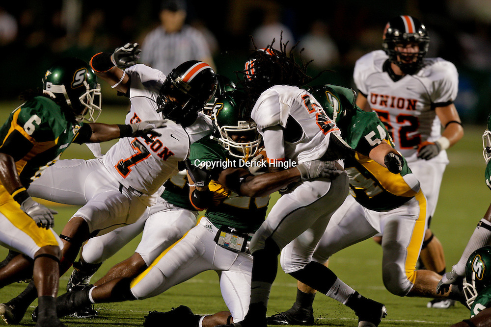 10 September 2009:  during a game between Southeastern Louisiana University Lions and Union College at Strawberry Stadium in Hammond, Louisiana.