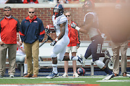 Mark Dodson (7) breaks off a long run at Mississippi's Grove Bowl controlled scrimmage at Vaught-Hemingway Stadium in Oxford, Miss. on Saturday, April 5, 2014.