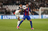 can - 14.03.2017 - Torino - Champions League Quarti di Finale  -  Juventus-Barcellona nella  foto: Dani Alves e Neymar
