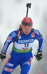 Oksana Neupokoeva (RUS) at Women 15 km Individual at E.ON Ruhrgas IBU World Cup Biathlon in Hochfilzen (replacement Pokljuka), on December 18, 2008, in Hochfilzen, Austria. (Photo by Vid Ponikvar / Sportida)